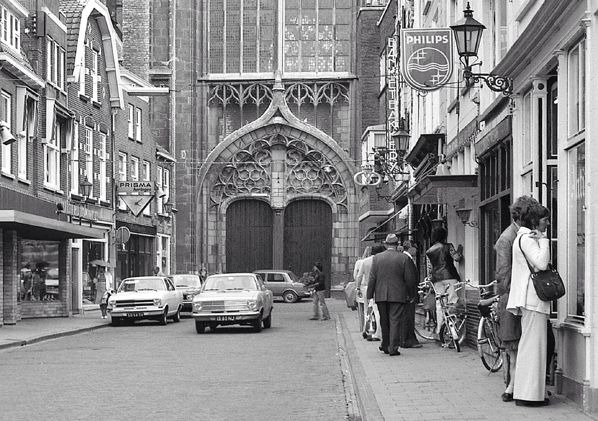 Korte Kerkstraat jaren 70