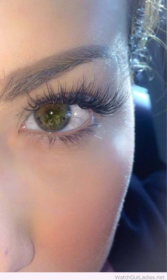 Awesome Eyelash Extensions Pinteres