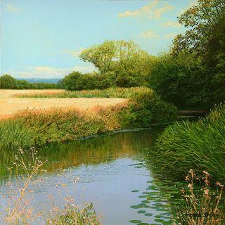 Imágenes Arte Pinturas: Vistas de Panoramas Naturales, Paisajes de David Smith