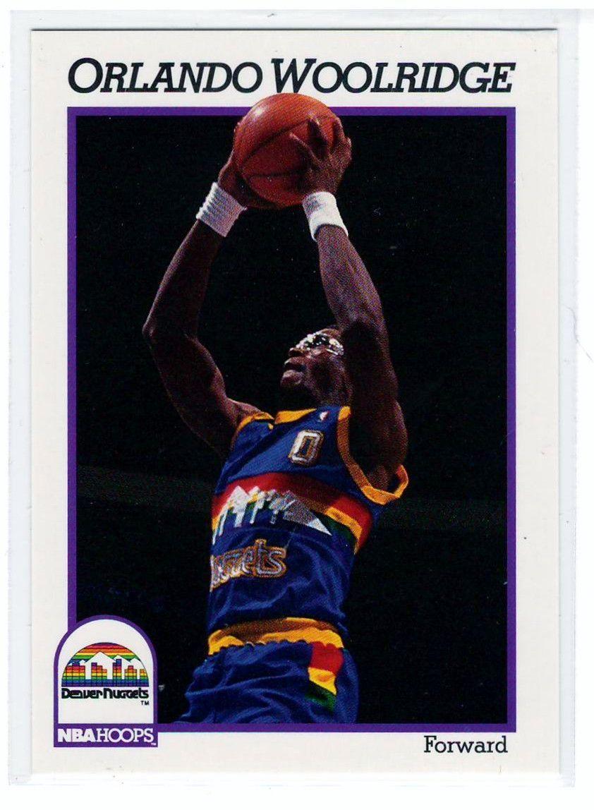 Basketball Trading Cards 1991 NBA Hoops Orlando Woolridge