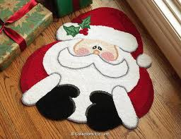 Hermoso tapete de Santa