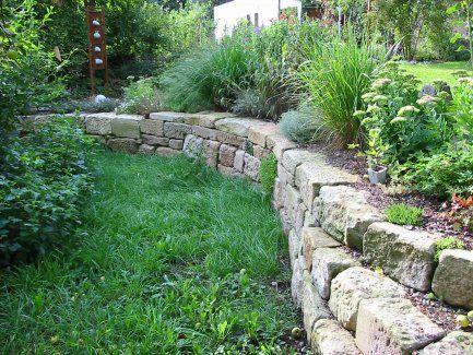 Mauern von greenteam gartengestaltung hanggarten for Gartenidee hanglage