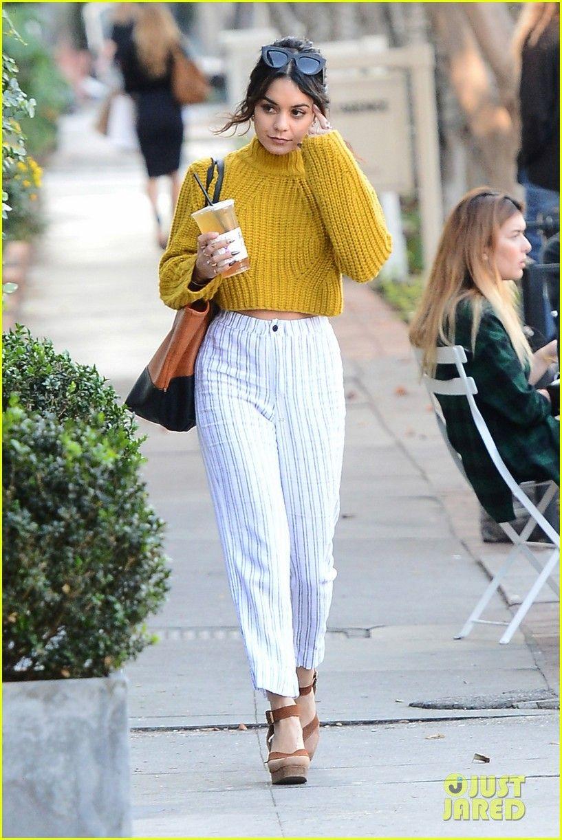 Vanessa Hudgens Makes Coffee Run Ahead of Thanksgiving Prep