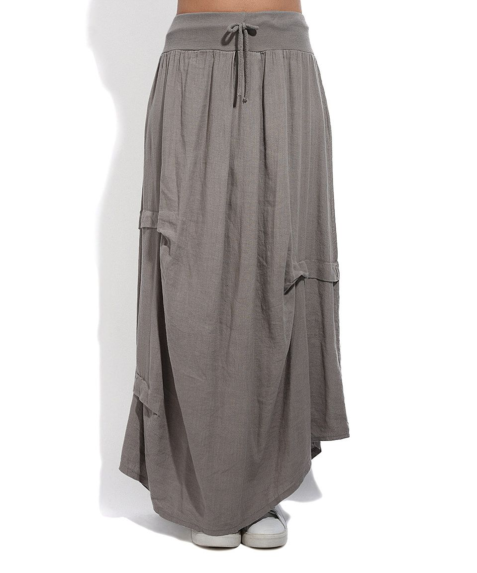 simple take a look at this couleur lin taupe maurine linen maxi skirt plus too today with. Black Bedroom Furniture Sets. Home Design Ideas