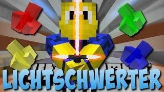 TRILLIONEN LICHTSCHWERTER MOD Star Wars Deutsch Minecraft - Minecraft spiele filme auf deutsch