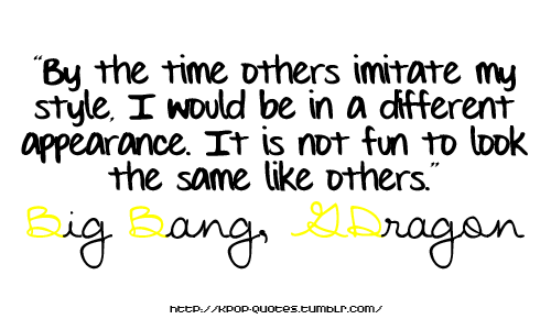 Ha ha ha~ Well seems we have something in common. I like to have my own different style than everyone else. It's fun! :)