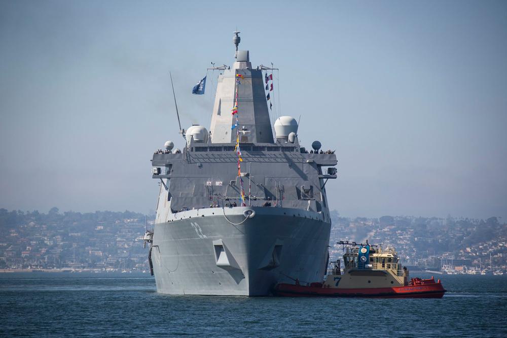 Fleet Week San Diego Begins SeaWaves the BEST naval