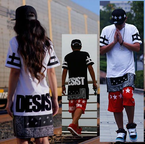 2013 t shirt skirt dress men women lover short sleeve zipper hip hop sale cease desist zipper lengthen west coast flowers cashew short sleeve t shirt cashew flowers national trend dress short tee thecheapjerseys Gallery