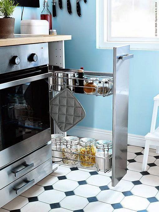 5 ideas para distribuir y decorar una cocina rectangular | Kitchens ...