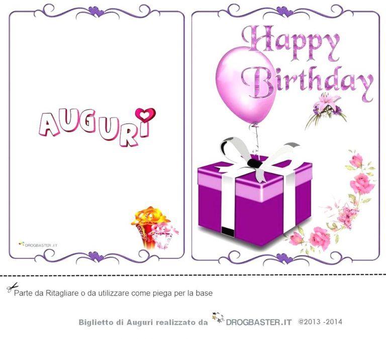 Nuovo Biglietti Compleanno Da Stampare Gratis Foto Buon Compleanno Avec Nuovo Biglietti Compleanno Da S Buon Compleanno Compleanno Biglietti Di Buon Compleanno