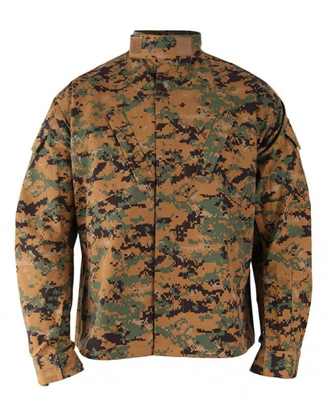 Propper Men s Battle Rip ACU Digital Coat Long - Digital Woodland Long  Sleeve Shirts Long Sleeve 7eeb13d50a