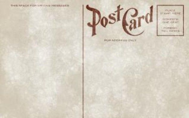 vintage postcard template download - Google Search design - blank greeting card template word