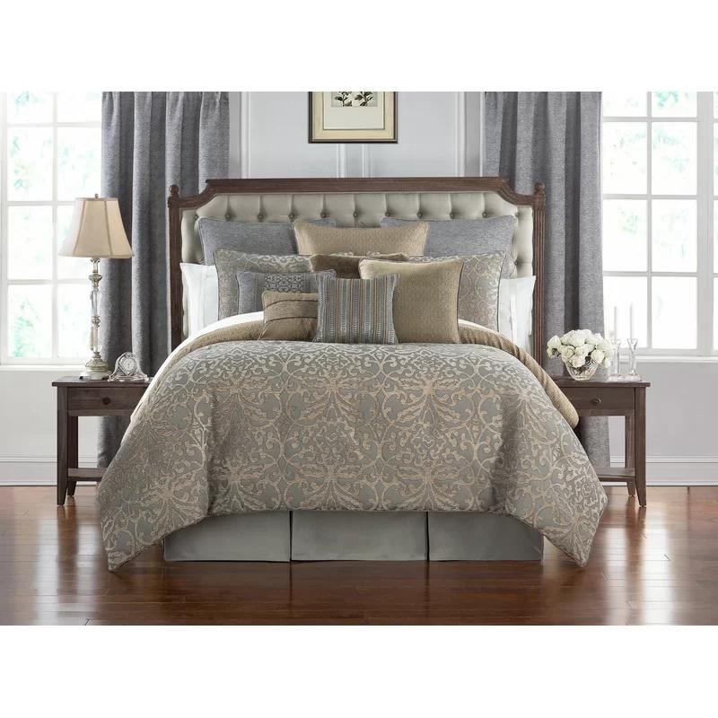 Carrick 4 Piece Reversible Comforter Set in 2020