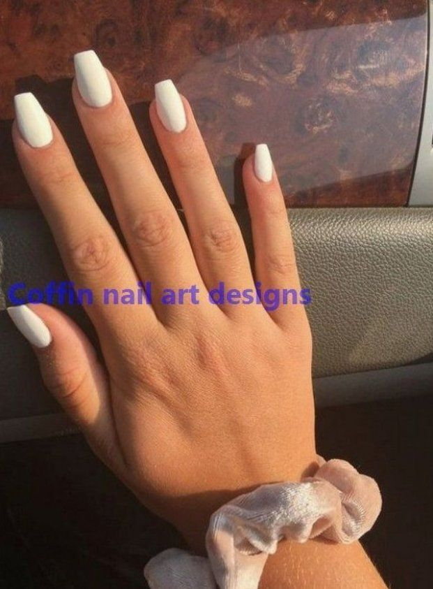 20 Trendy Coffin Nail Art Designs 1 Naildesigns Manicures Flores Manicures Glitter Manicures Whit N In 2020 Best Acrylic Nails Nail Art Hacks Nail Art Designs