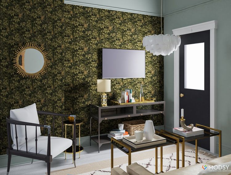 One Room Two Ways My Virtual Living Room Makeover With Modsy Mesmerizing Living Room Makeover Inspiration