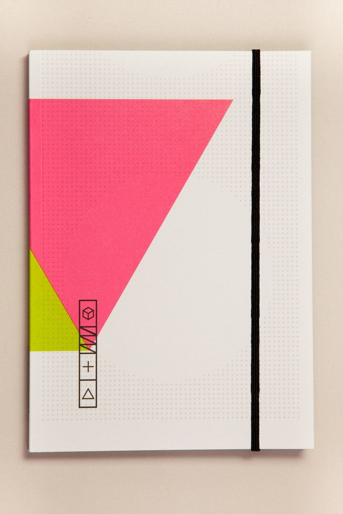 Pulp Notebook 613 A5 Estampas Livro Em Branco Cores