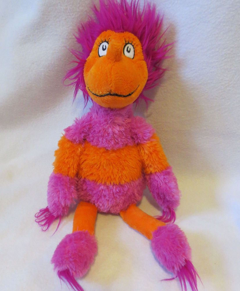 """Kohl/'s Cares for Kids Dr Seuss THERE/'S  A WOCKET IN MY POCKET 18/"""" Plush Toy"""