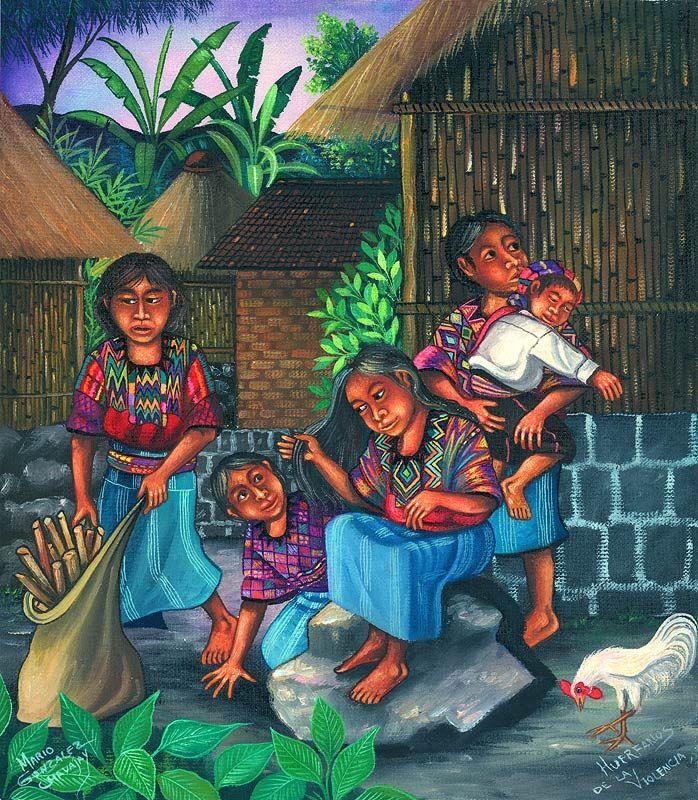 Mario Gonzalez Chavajay Latin American artist Guatemala