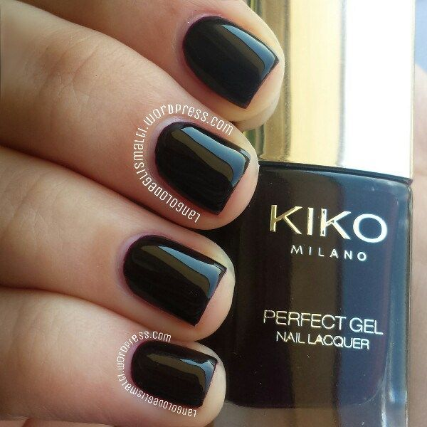 Kiko Perfect Gel Duo 683, Rouge Noir | Rouge and Swatch
