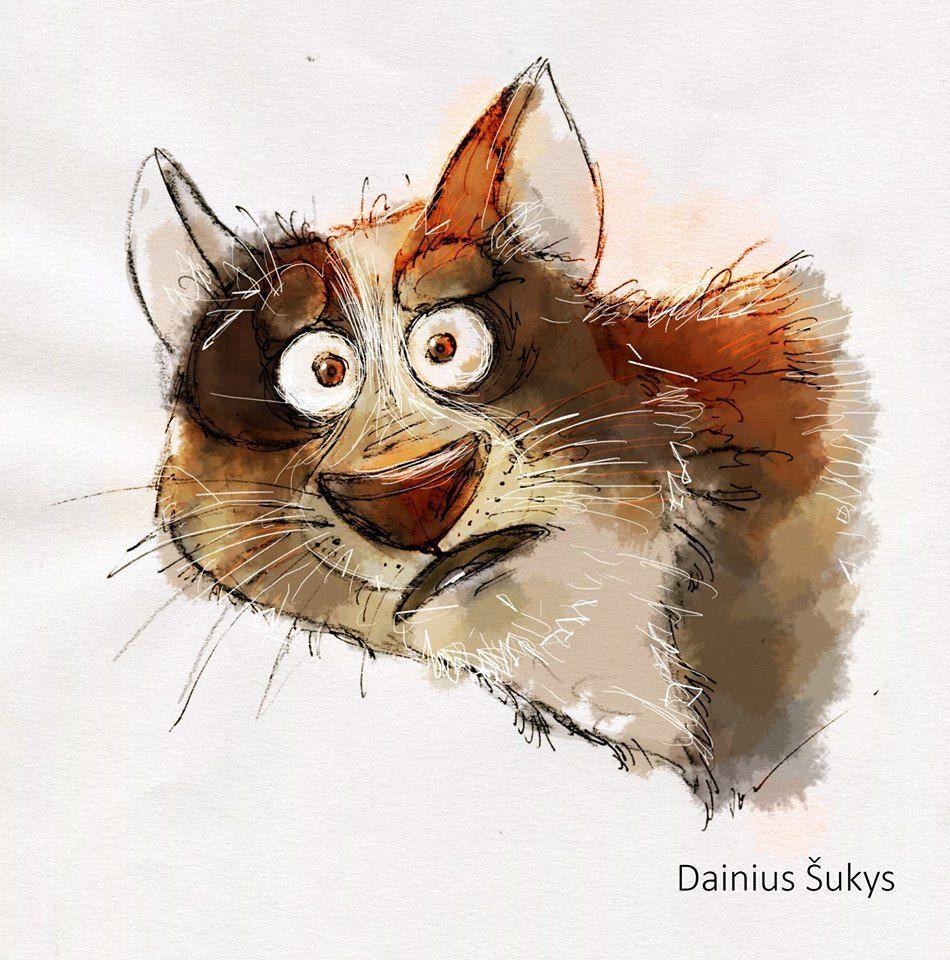 Рисунок смешных зверей, комплементы открытках