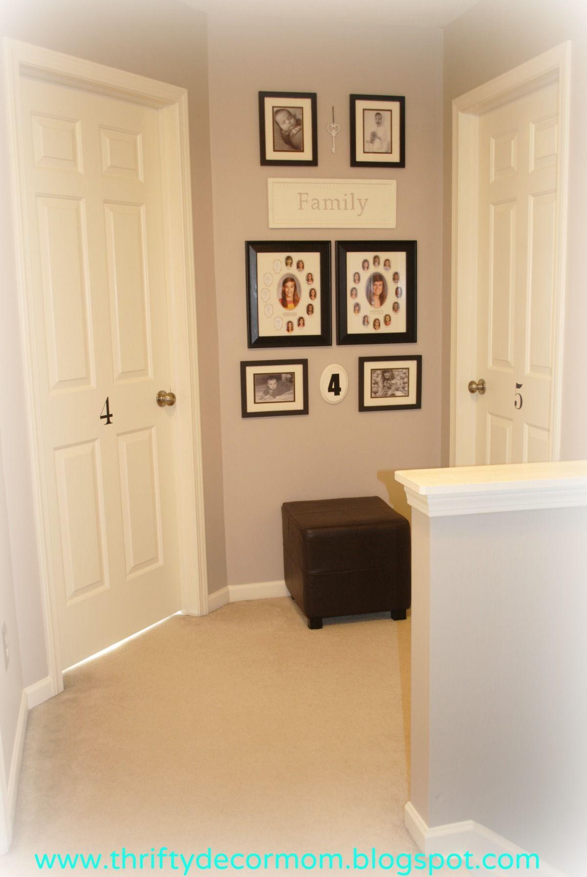 Upstairs hallway & gallery wall | Gallery Walls | Pinterest ...
