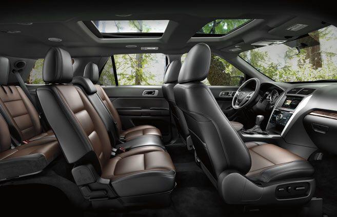 2015 White Ford Explorer Sport Interior New Ride Pinterest