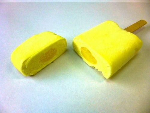 『レモン牛乳アイスバー』