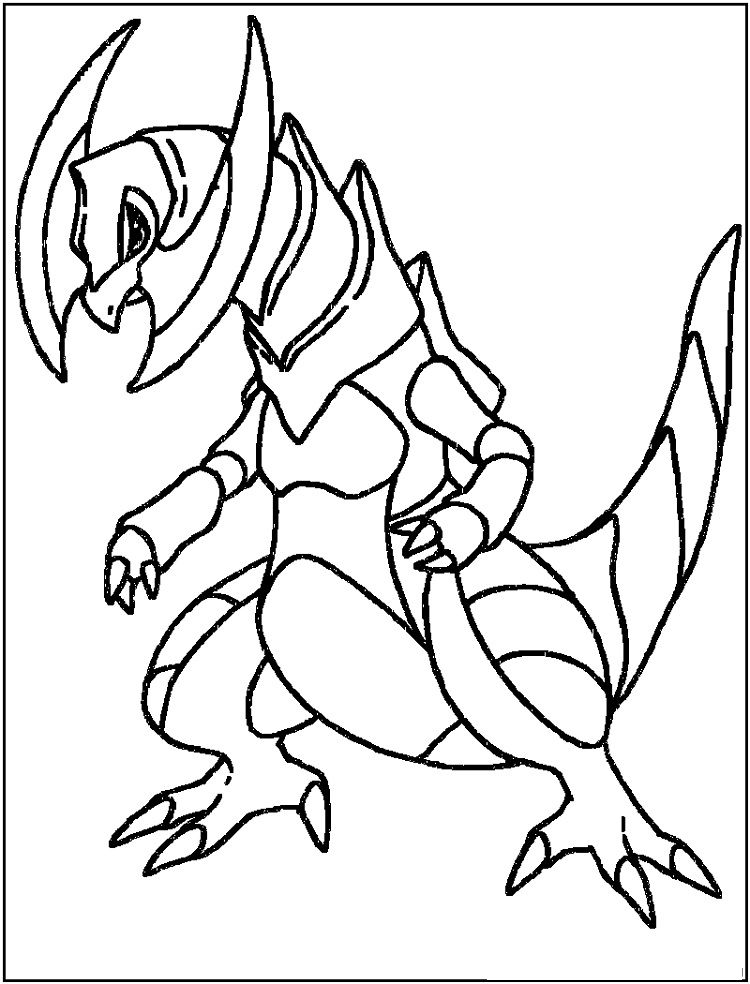 Pokemon Coloring Pages Haxorus Dragon Coloring Page Pokemon