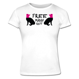 Free Pussy Riot Cats t-shirt $20.45