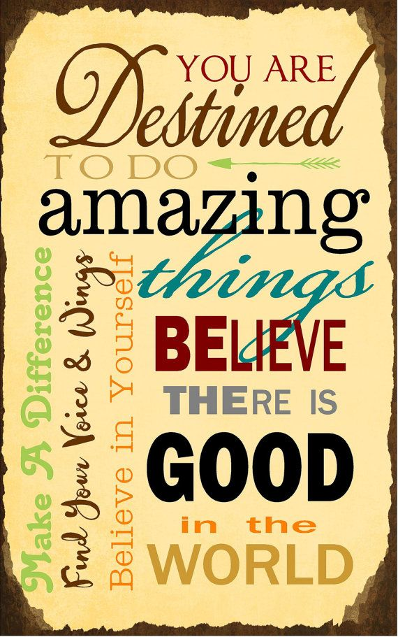 Be the Good Make A Difference Inspirational Collage Wood Sign ...