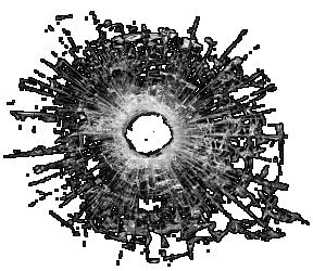 Bullet Shot Hole Png Image Bullet Holes Background Images Hd Transparent Background