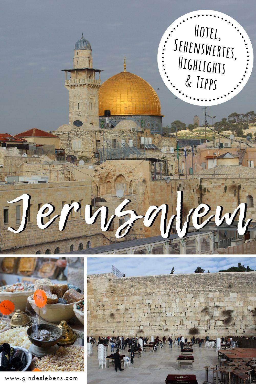 Israel Jerusalem Karte.Jerusalem Israel An Einem Tag Sehenswurdigkeiten Hotel
