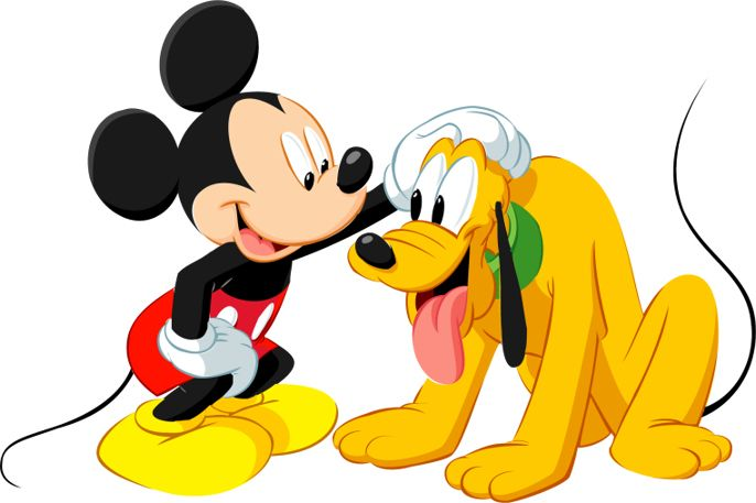 dog Clipart | Mickey Mouses & pet dog Pluto Clipart Images ...