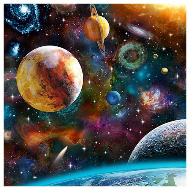 Planets Space Art Space Art Planet Painting Planets Art