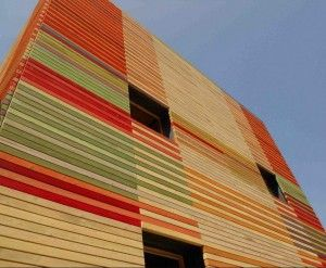 Quando il legno è protagonista.  Il nuovo Auditorium de L'Aquila
