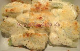 Le ricette della Zu: Finocchi gratinati (versione leggera)