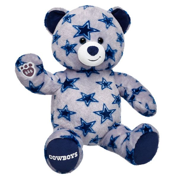 16 in. Dallas Cowboys Bear  3c2e33719