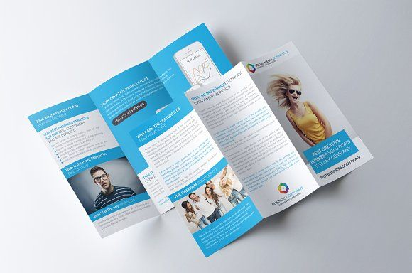 Software House Trifold Brochure By Party Flyers On Creativemarket