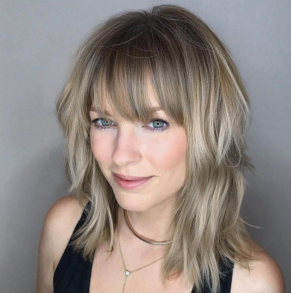 most universal modern shag haircut solutions in hair and