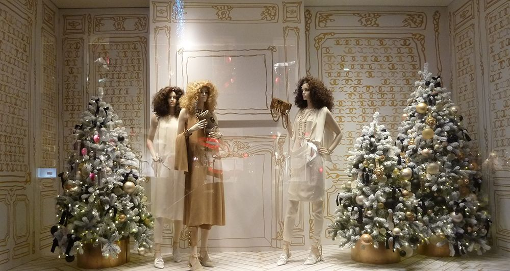 chanel-2014-11-christmas sketch ⓔⓣⓒ | Retail | Pinterest ...