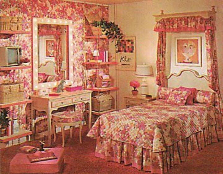 1970 S Girls Bedroom Retro Bedrooms Bedroom Vintage 70s Bedroom