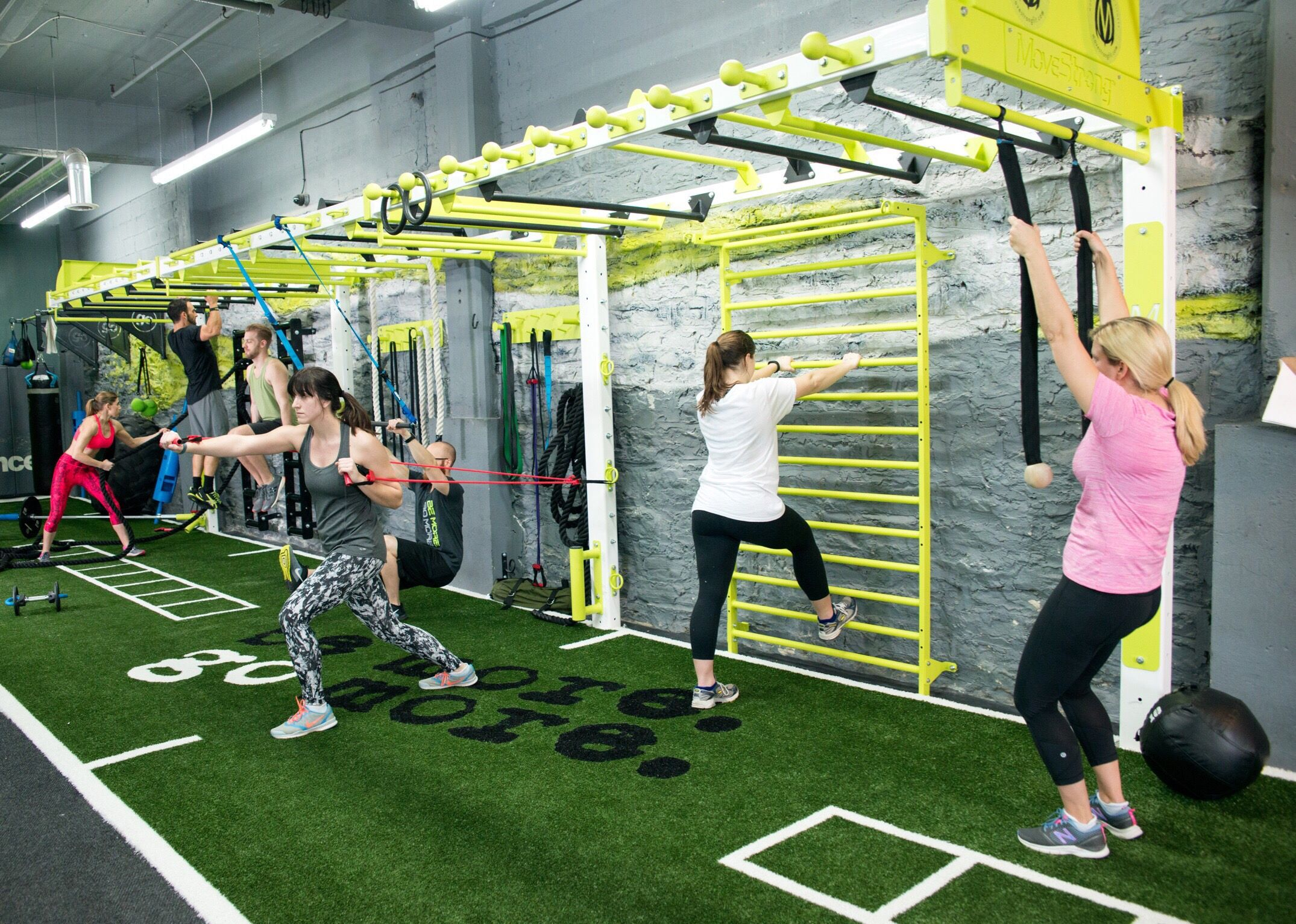 Gym Design For Functional Fitness Training Save Floor