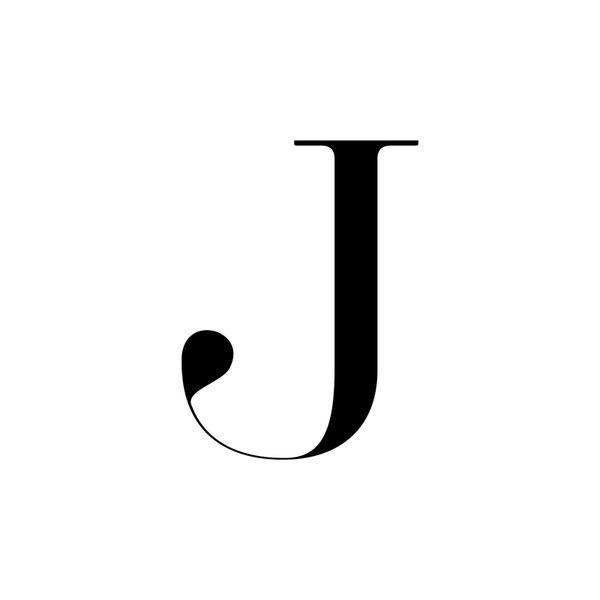 Letter J Fonts