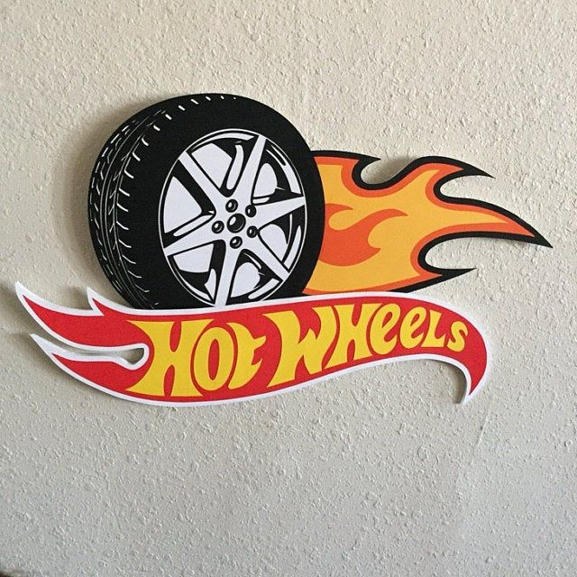 Hot Wheels SVG Download Hotwheels Clipart cut with Sillhouette | Etsy