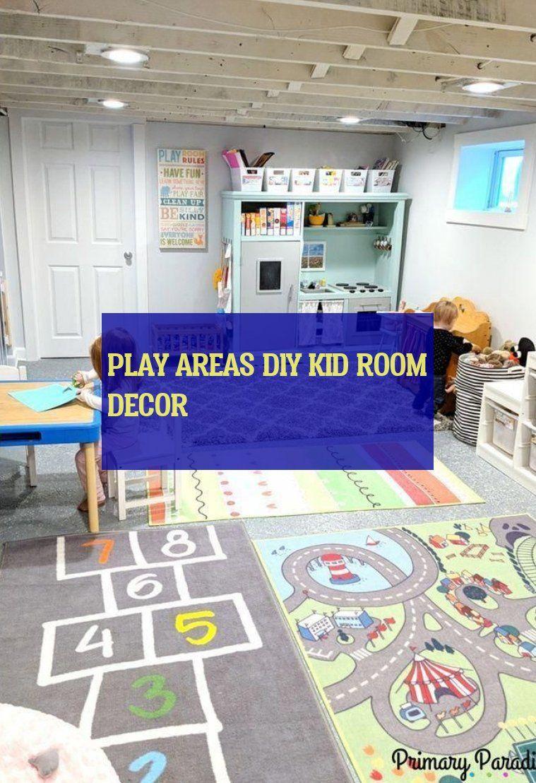 Play Areas diy kid room decor