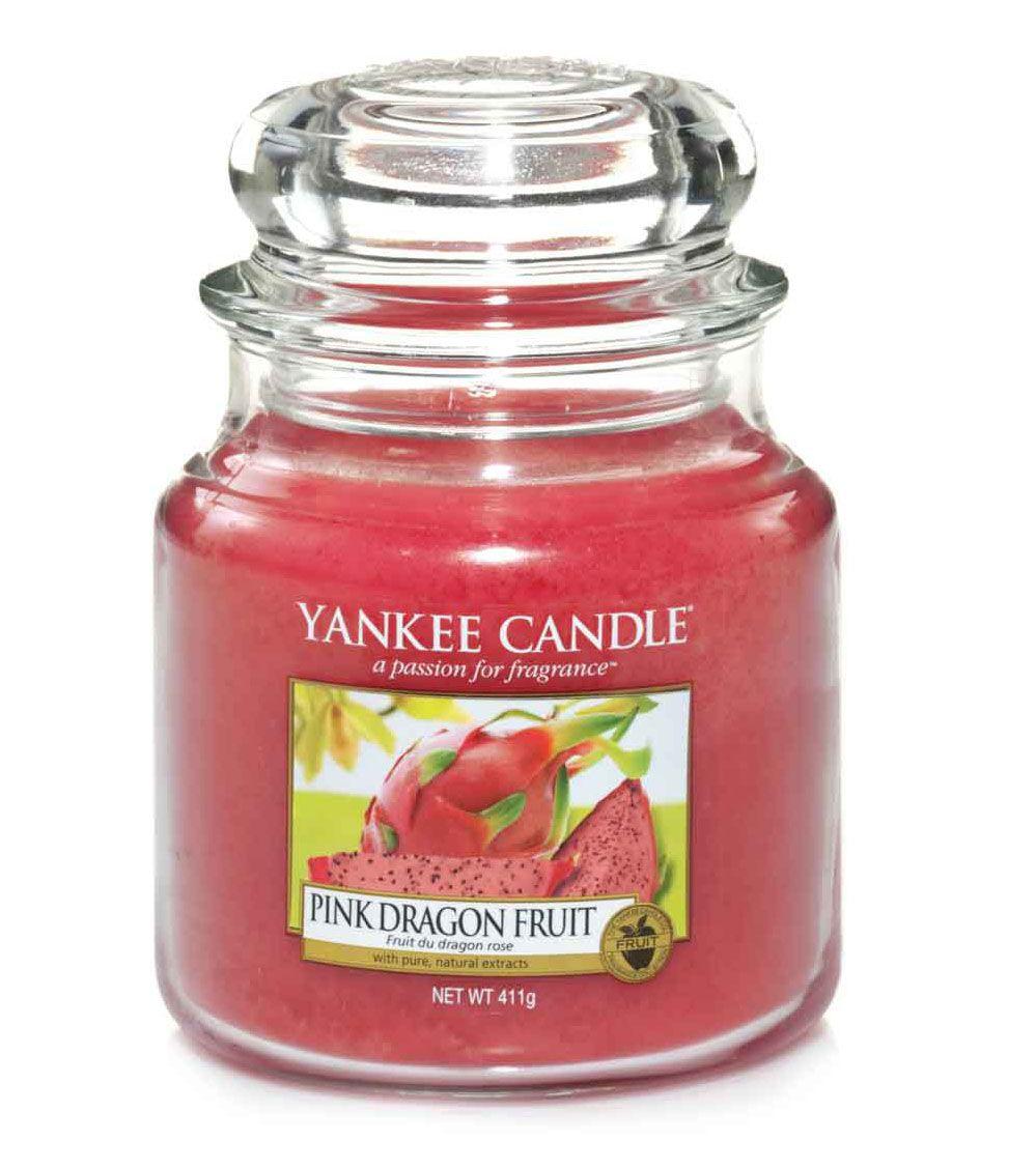 moyenne jarre bougie parfum e fruit du dragon rose pink dragon fruit medium jar yankee. Black Bedroom Furniture Sets. Home Design Ideas