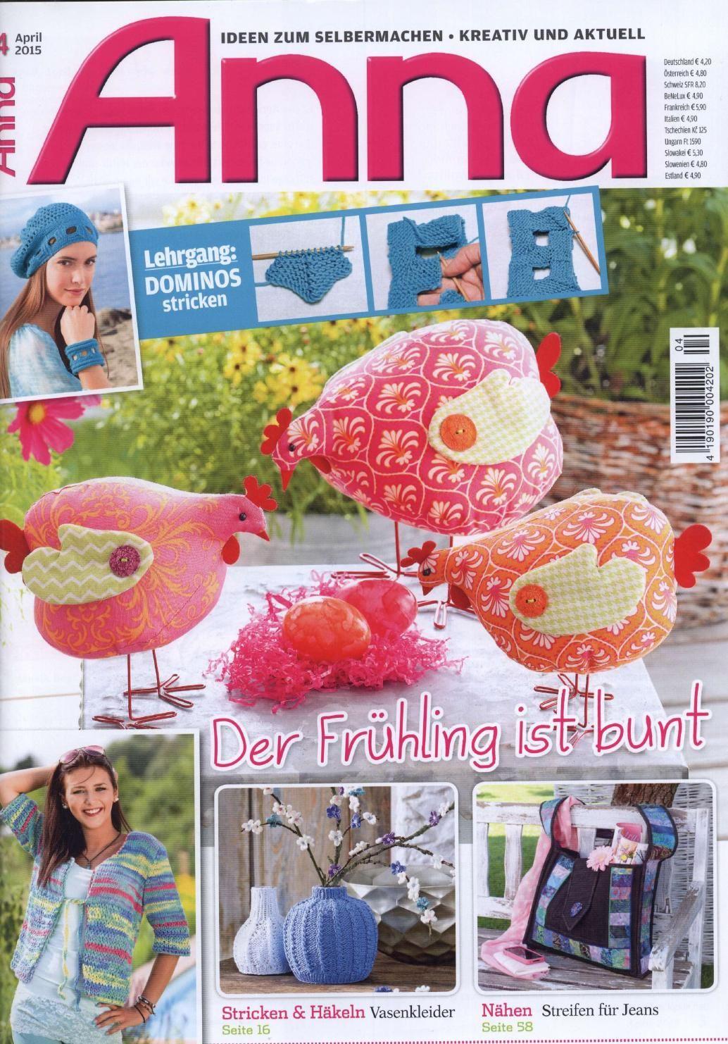 anna   Deutsch, Häkelanleitung und Sammlung
