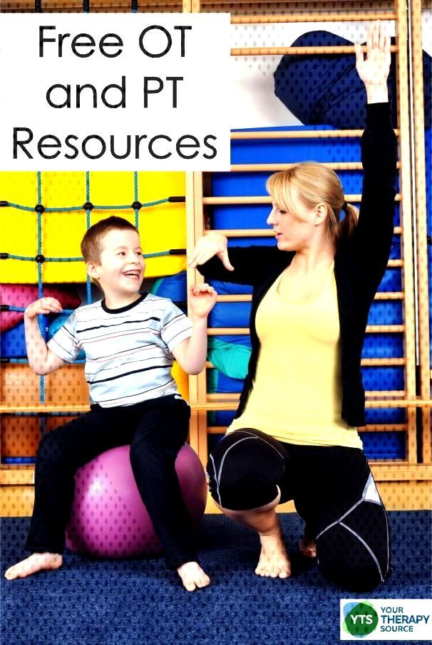 Free Occupational Therapy Worksheets and PT Resources - Your Therapy Source Here are some miscellan