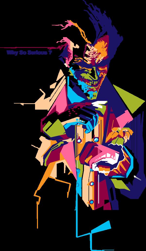 Why So Serious By Denny Bangke Via Behance Joker Drawings Joker Artwork Joker Photos