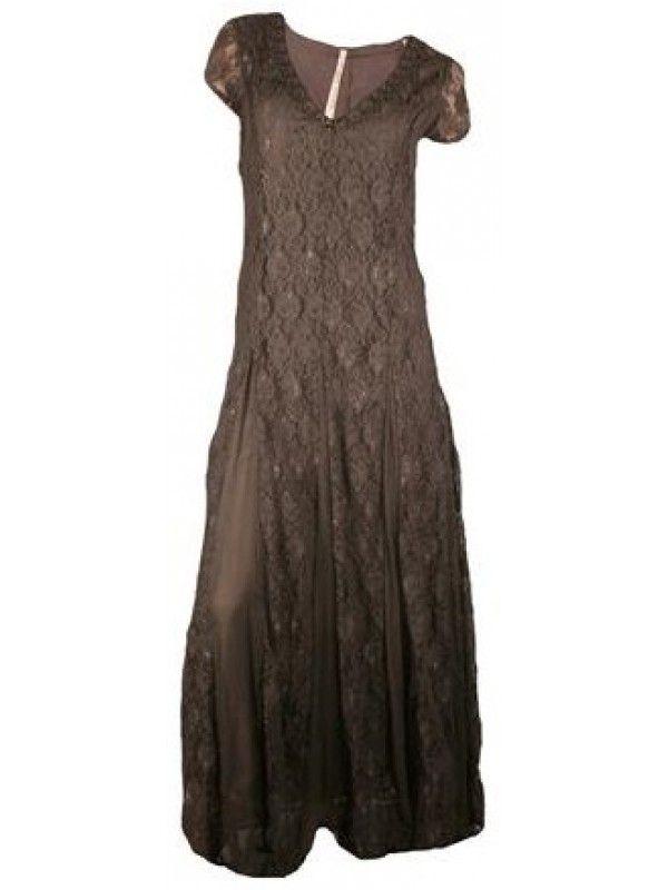 Koop Isla Ibiza Maxi Dress Brown